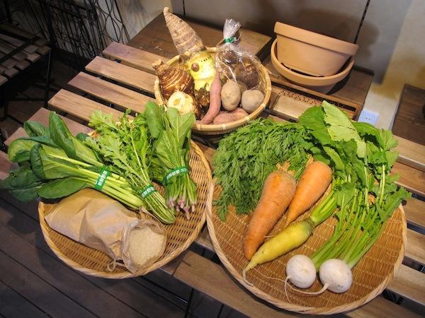 無農薬米・有機野菜