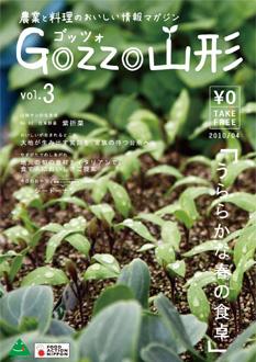 ゴッツォ山形 vol.3 表紙